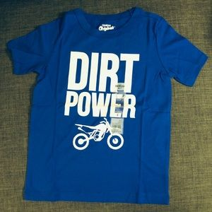 OshKosh Dirt Power Bike Graphic Cotton 6